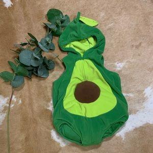 Baby avocado costume, sz 12m